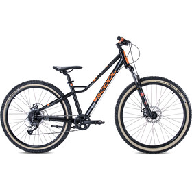 s'cool faXe race 26 9-S Lapset, black/orange matt